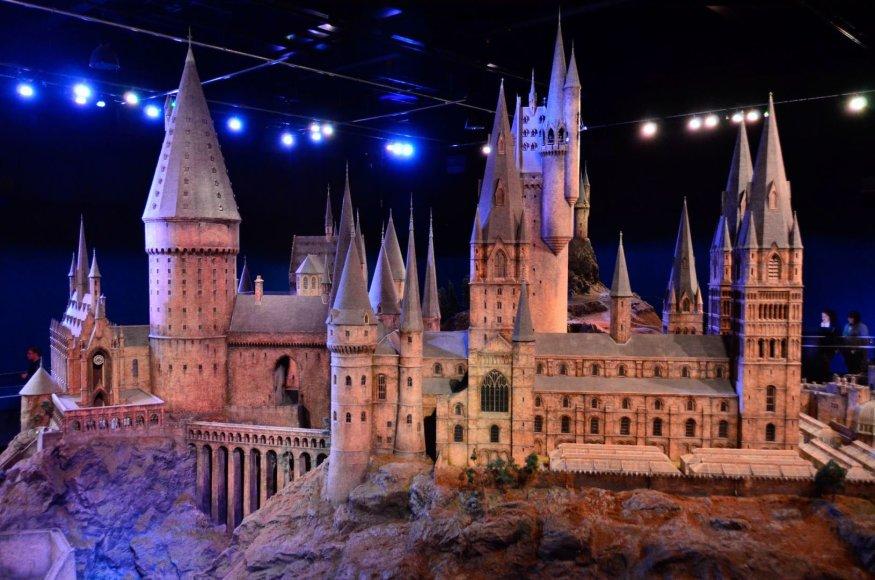 Hario Poterio mokyklos – Hogvartso maketas