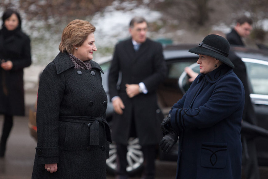 Loreta Graužinienė ir Dalia Grybauskaitė