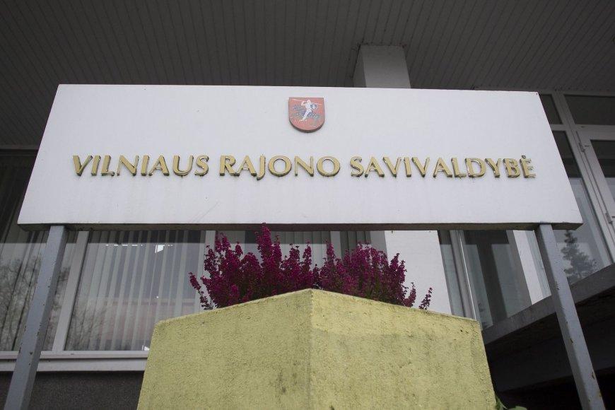 Piketas prie Vilniaus rajono savivaldybės
