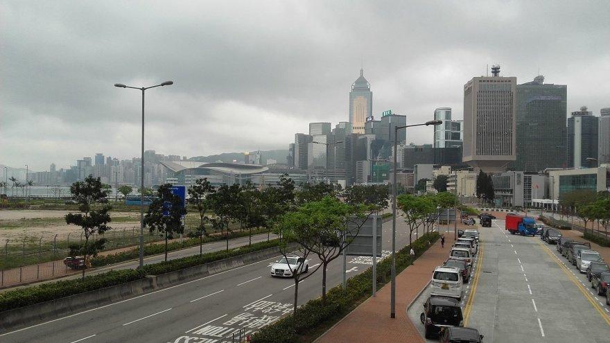 Honkongo panorama
