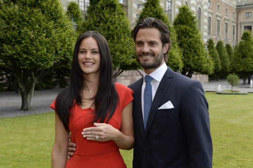 Švedijos princas Carlas Philipas susižadėjo su manekene Sofia Hellqvist