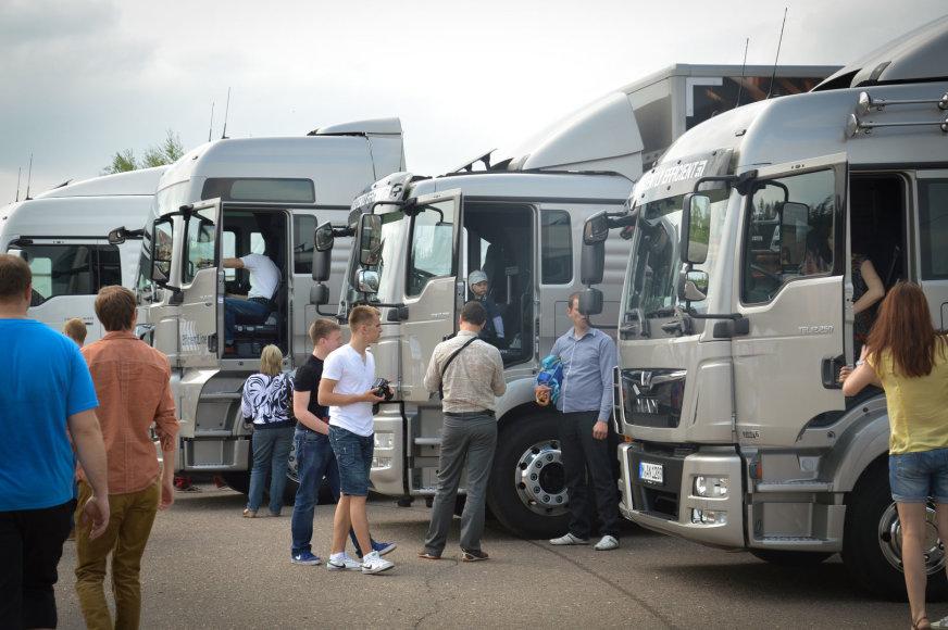 Transporto parodų dalyviai