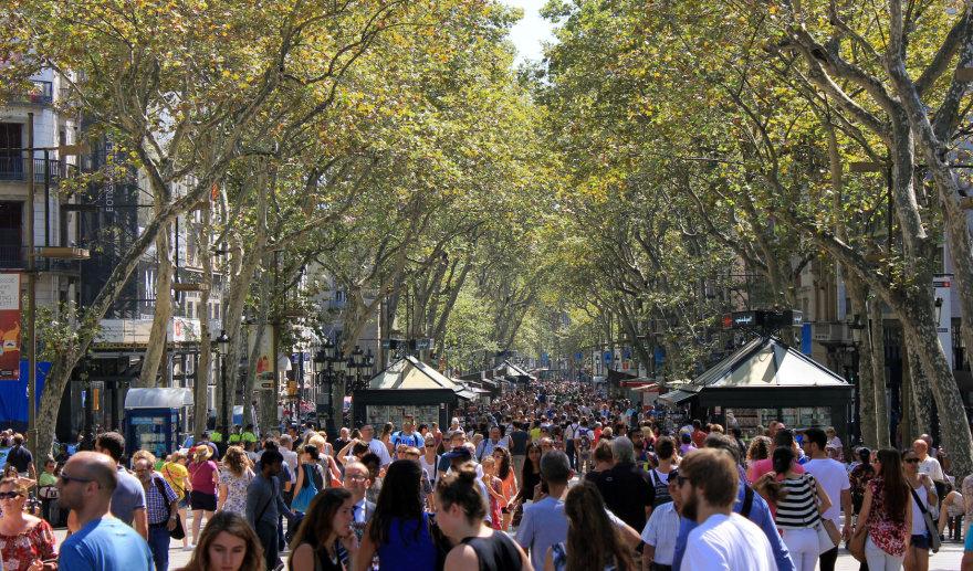Barselonos La Rambla gatvė