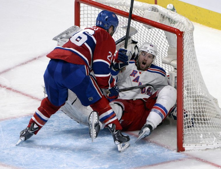 """Canadiens"" – ""Rangers"" rungtynės"