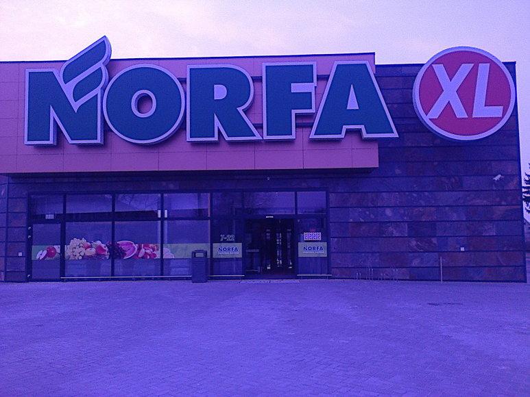 """Šakiuose atidaroma """"Norfa"""" parduotuvė."""
