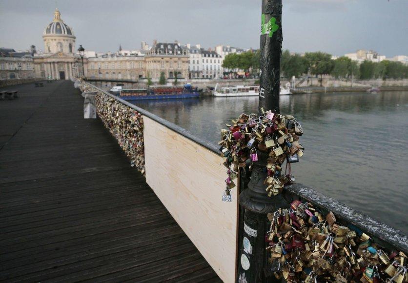 """""""Pont des Arts"""" tiltas"""