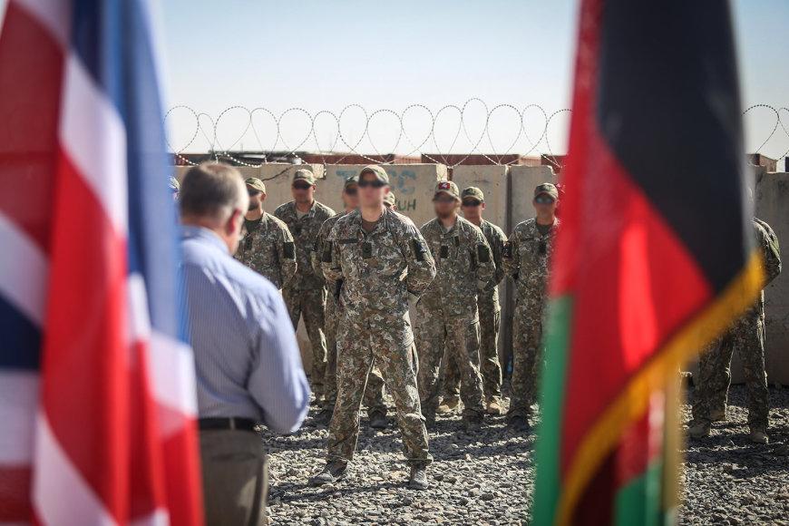 Juozas Olekas Afganistane
