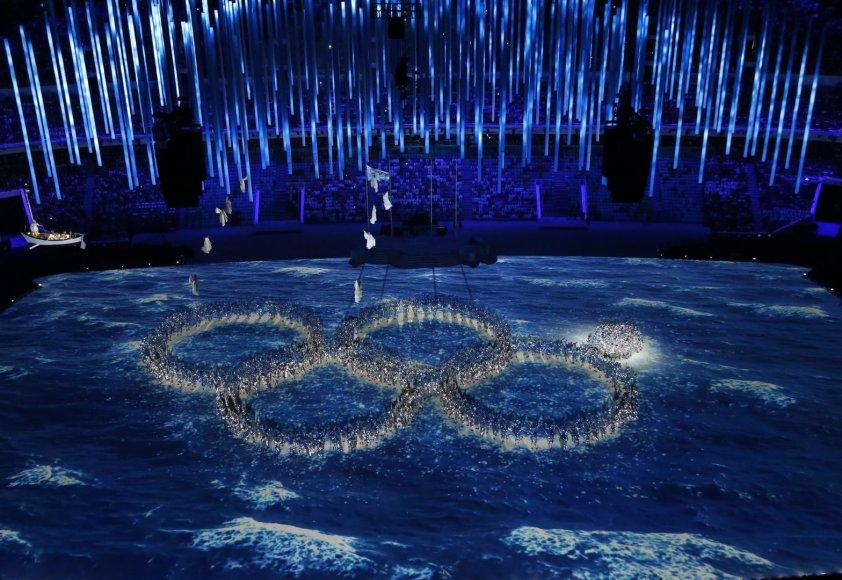 Sočio olimpinių žaidynių uždarymo ceremonija