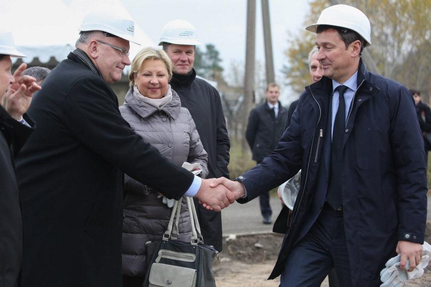 Jonas Pinskus ir Artūras Zuokas