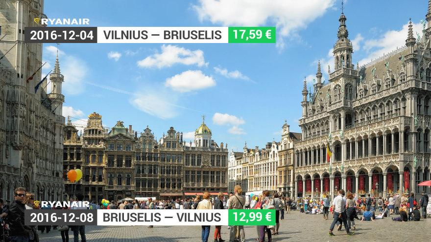 Į Europos sostinę – už 30 eurų į abi puses