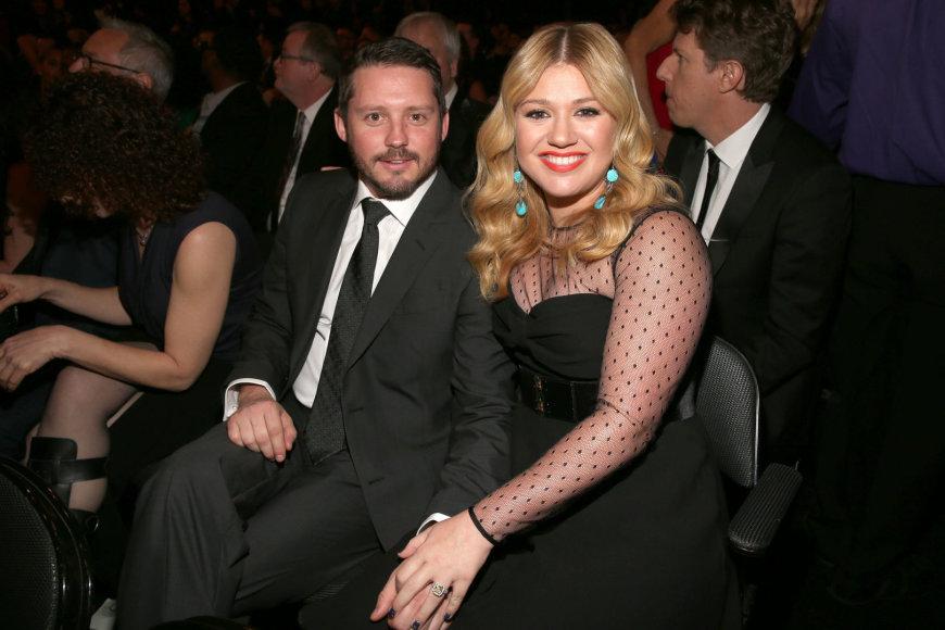 Kelly Clarkson ir Brandonas Blackstockas