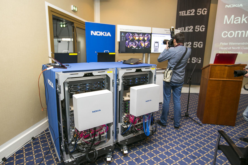 Tele2 pristatė naują ryšio technologiją