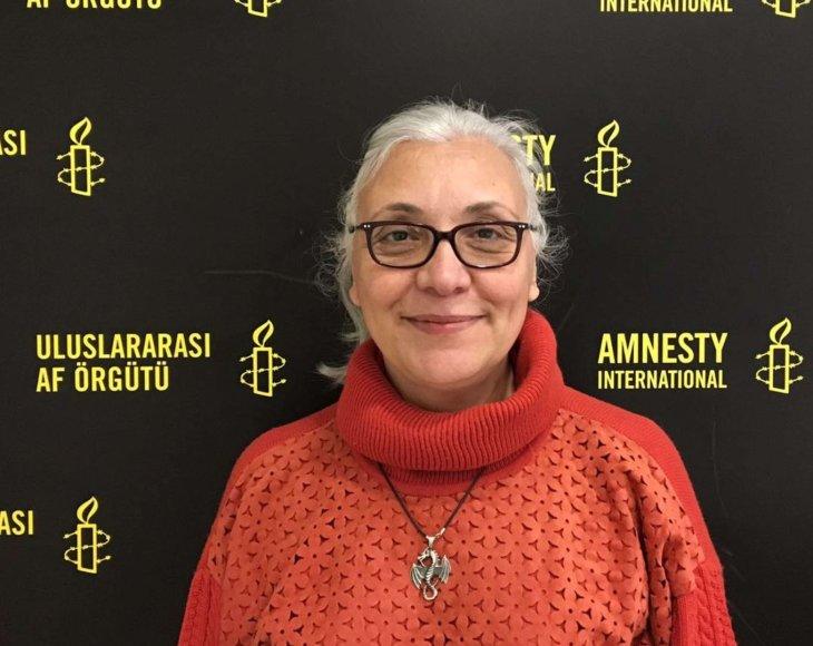 """""""Amnesty International"""" direktorė Turkijoje Idil Eser"""