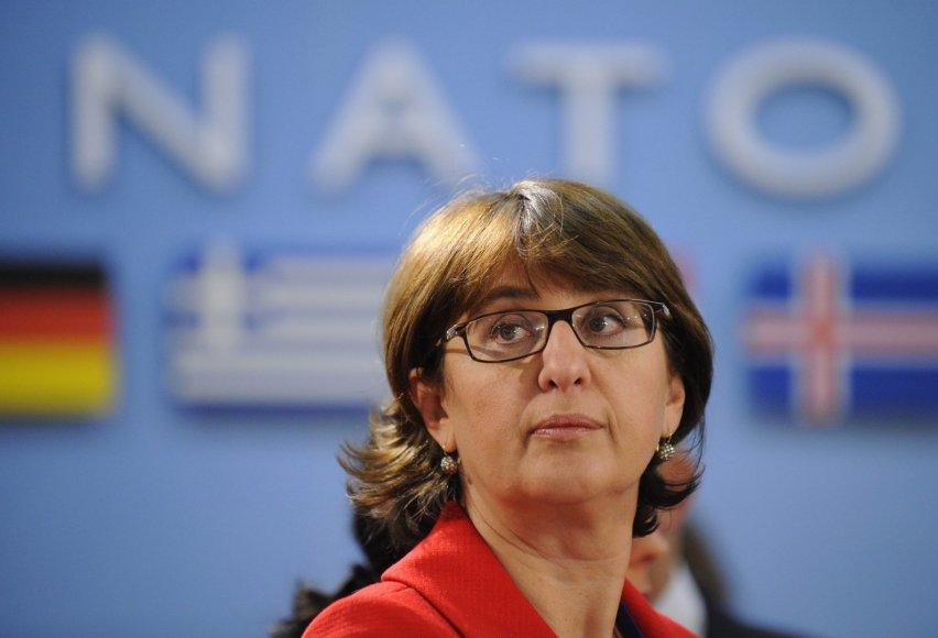 Gruzijos užsienio reikalų ministrė Maja Pandžikidzė