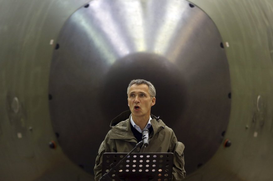 NATO vadovas Jensas Stoltenbergas