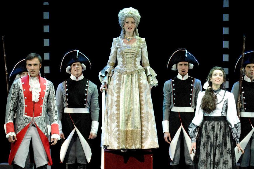 "Maskvos muzikinio teatro ""Na Basmannoj"" roko opera ""Kapitono duktė"""