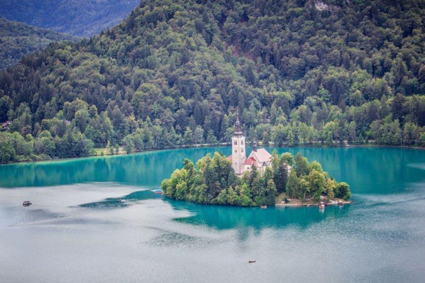 Bledo ežeras Slovėnijoje