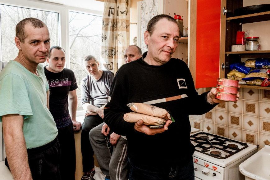 Apgautieji ukrainiečiai Klaipėdoje
