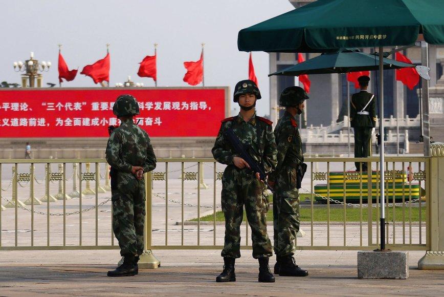 Kinijos sukarinta policija