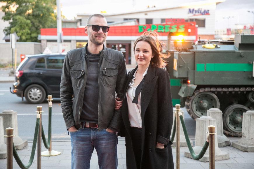 Tadas Vidmantas ir Lina Balčiūnaitė