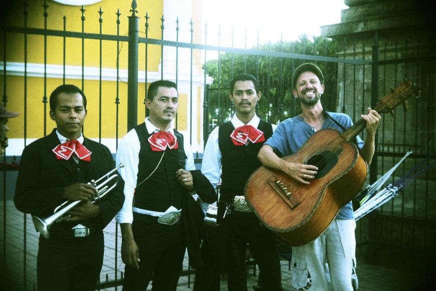 Lino Adomaičio kelionių dienoraštis iš Nikaragvos