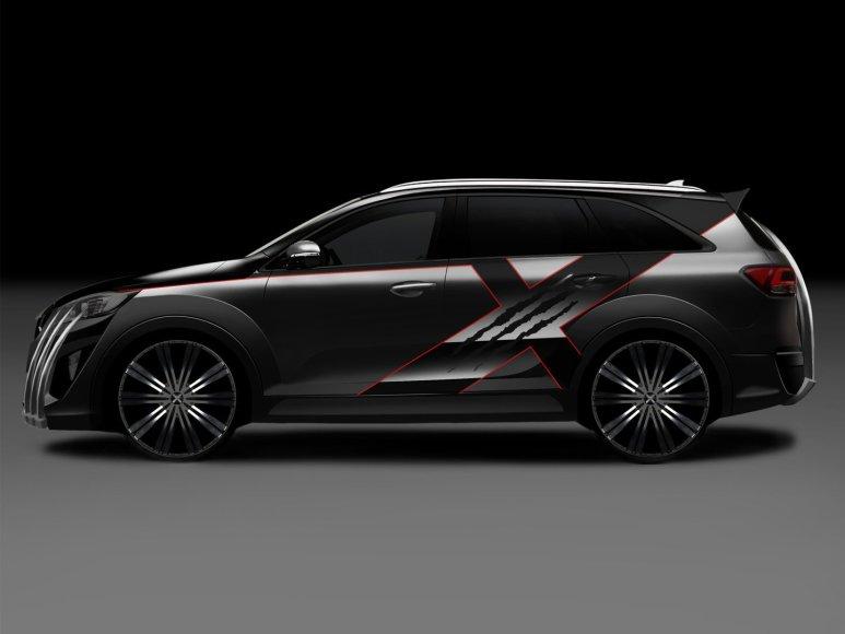 """KIA X-Car"""