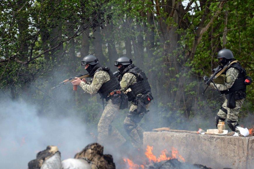 Ukrainos kariai Slovjanske