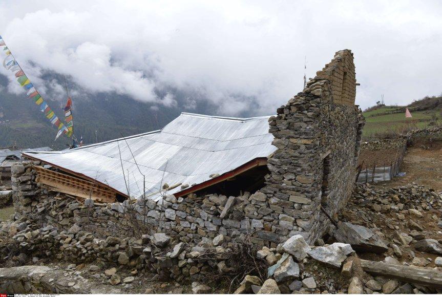 Žemės drebėjimo padariniai Tibete