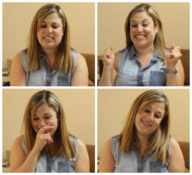 Janet Silverman reakcijos pamačius penių nuotraukas