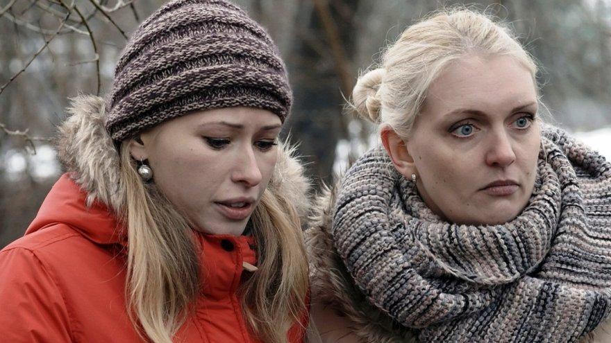 Rūta Ščiogolevaitė su Sandra Daukšaite-Petrulėne