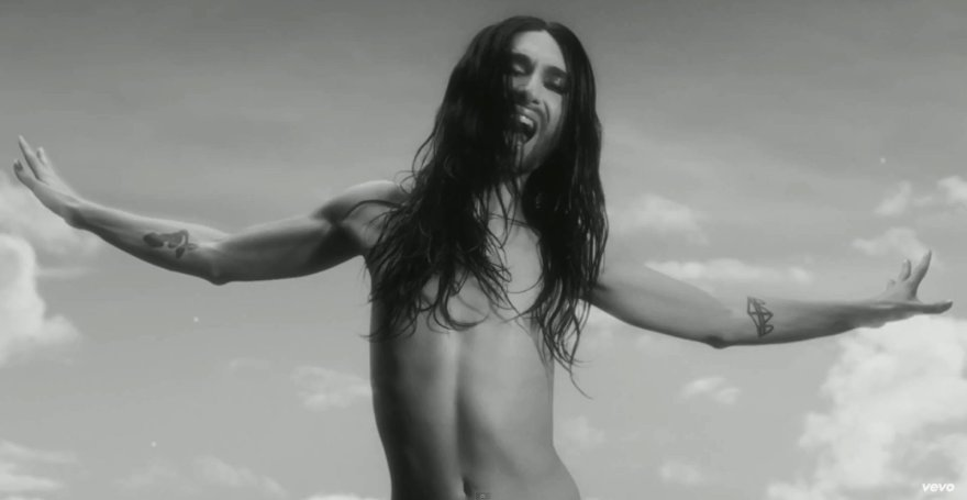 "Conchita Wurst vaizdo klipe ""You Are Unstoppable"""