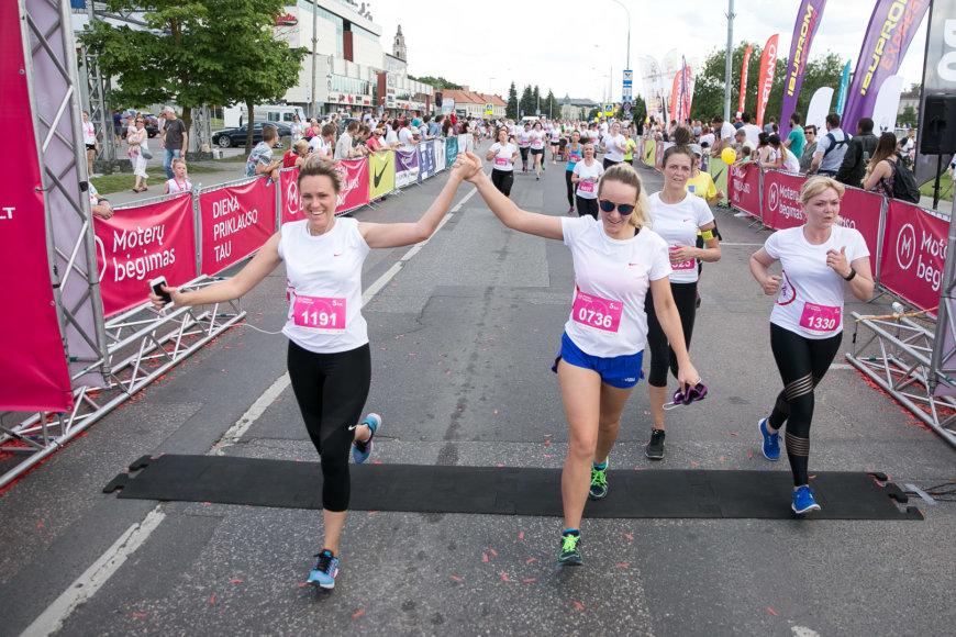 Moterų bėgimas 2017