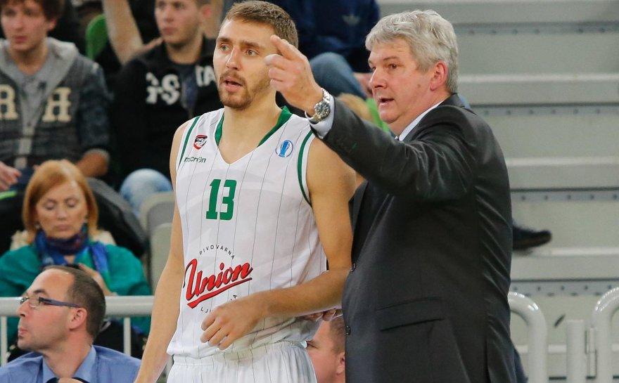 Deividas Gailius ir treneris Alešas Pipanas