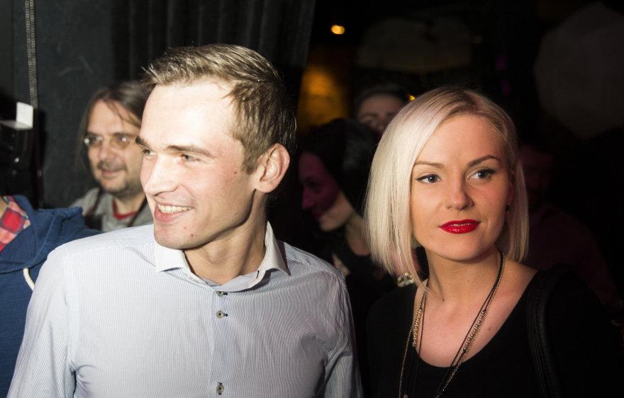 Rytis Žvagulis ir Laura Navikaitė