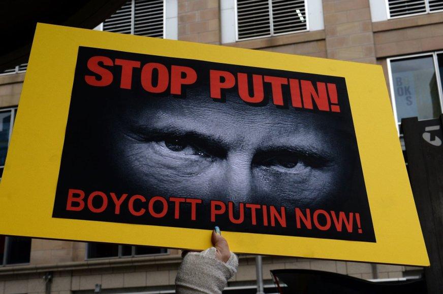 Protestas prieš Vladimirą Putiną