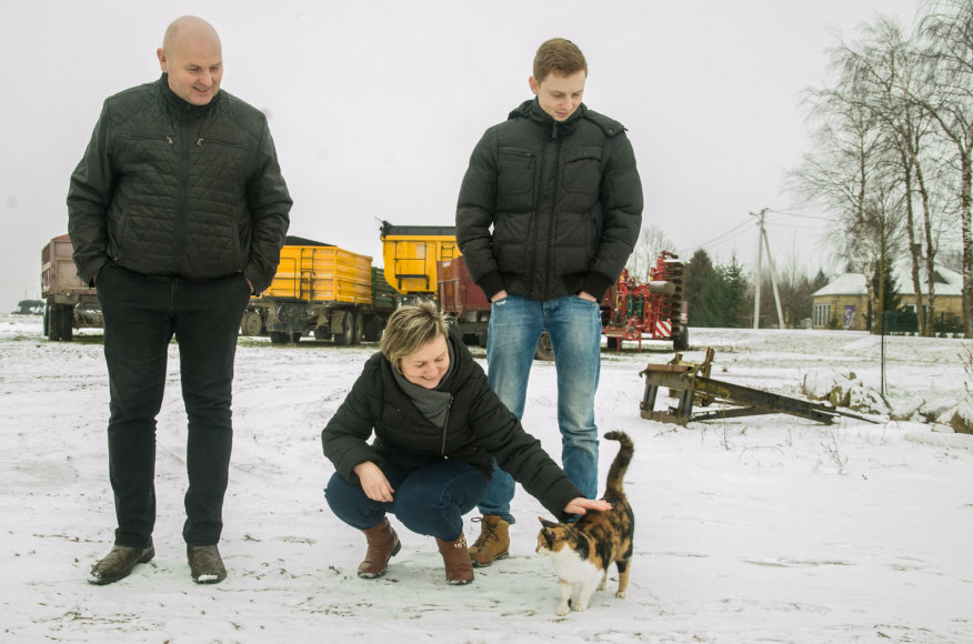 Projekto partnerio nuotr./Ūkininkai Valuntoniai