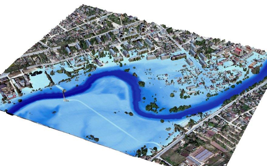 Žemėlapių sudarymui naudotų duomenų pavyzdys Kėdainių mieste