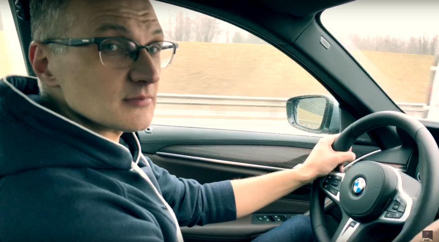 BMW išsinuomojęs vyras