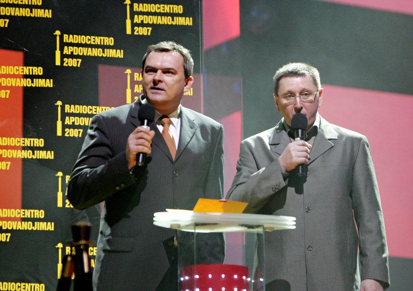 Gintaras Ruplėnas ir Vytautas Šerėnas
