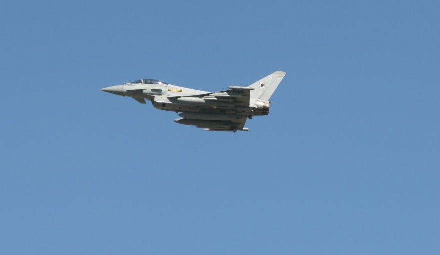 """Naikintuvai """"Eurofighter Typhoon"""""""