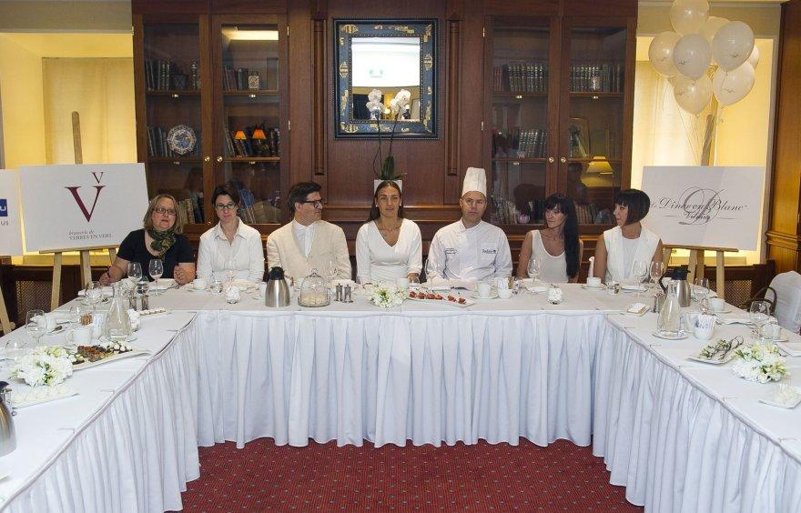 """""""Vakarienės baltai"""" (Dîner en Blanc) pristatymo renginys"""