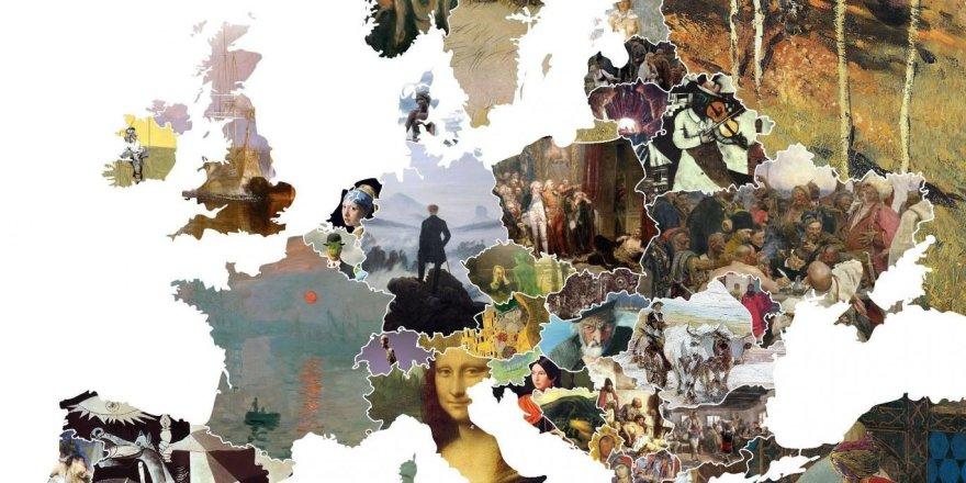 Europos meno žemėlapis