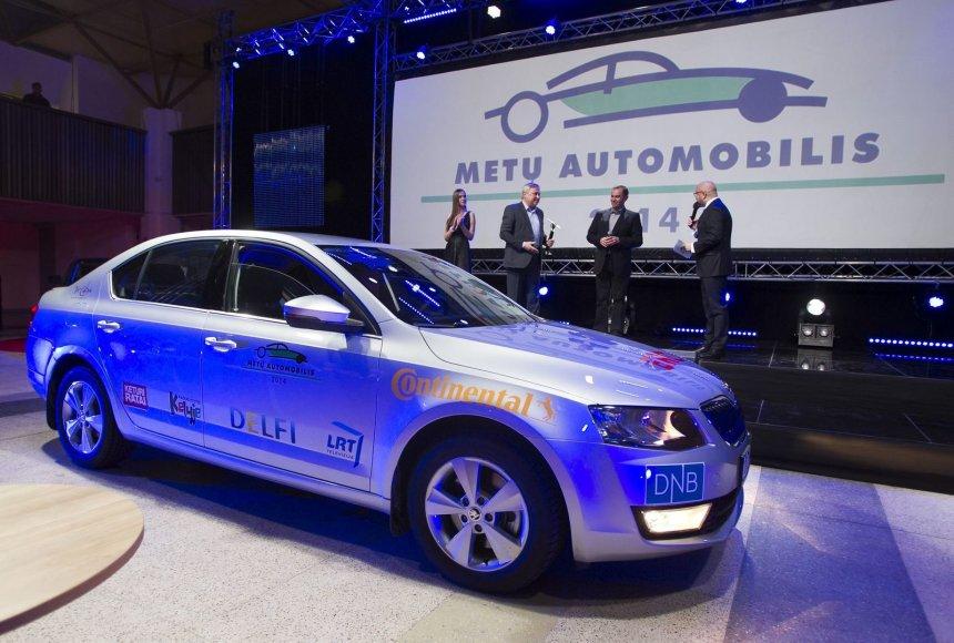 """Lietuvos """"Metų automobiliu 2014"""" išrinkta """"Škoda Octavia"""""""