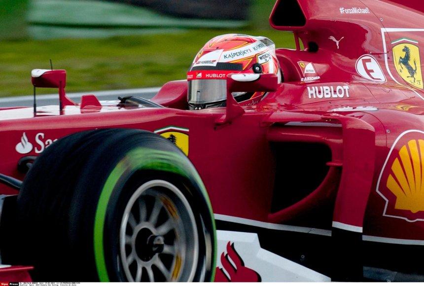 """Kimi Raikkonenas, """"Scuderia Ferrari"""""""