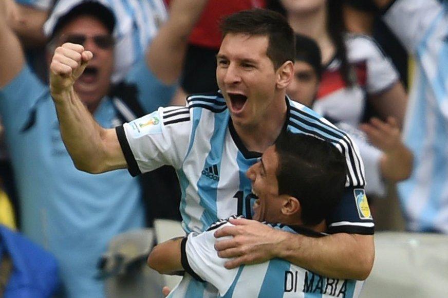 Argentinos ir Nigerijos dvikova