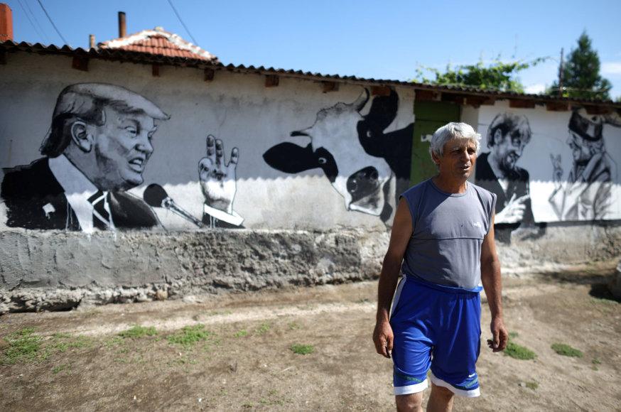 Piešiniai Bulgarijos kaime