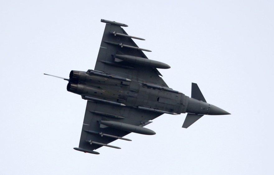 """Britų naikintuvas """"Typhoon"""""""
