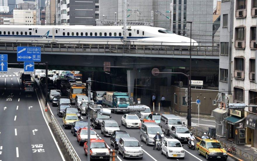 Traukinys Japonijoje
