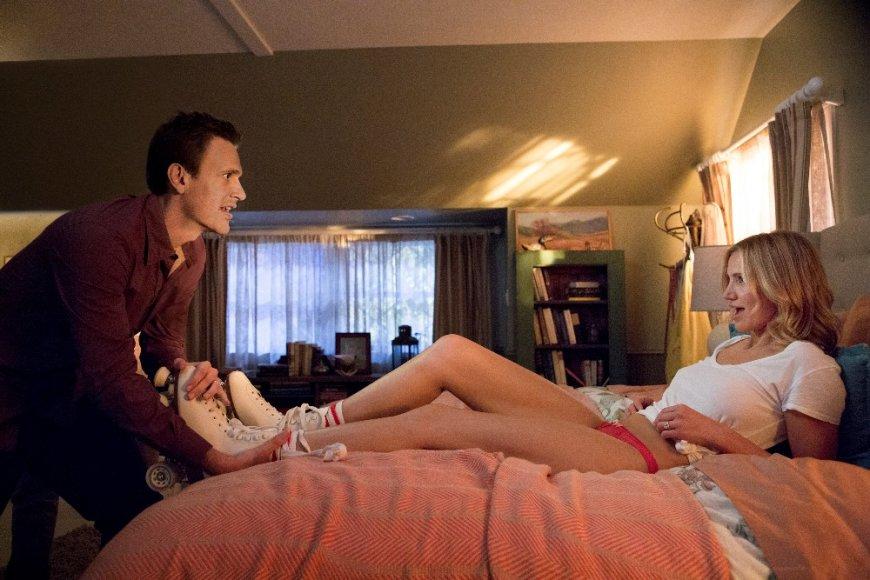 """Cameron Diaz ir Jasonas Segelas komedijoje """"Seks video"""""""