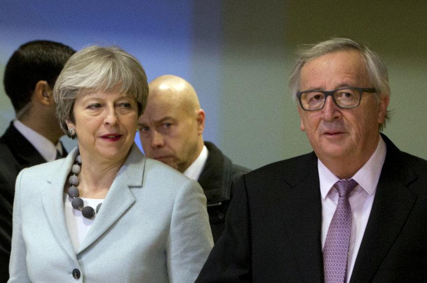 Th.May ir J.C.Junckeris Briuselyje gruodžio 8-osios rytą
